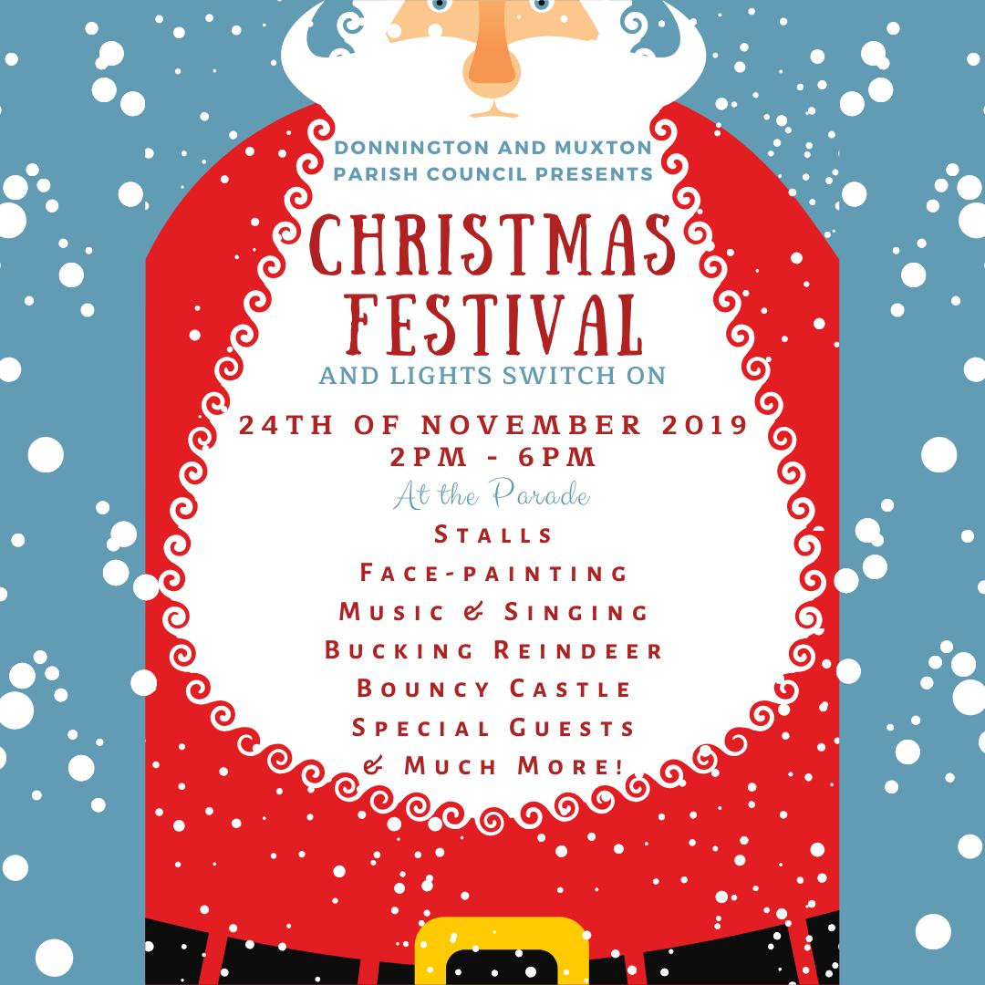Christmas Festival Flyer