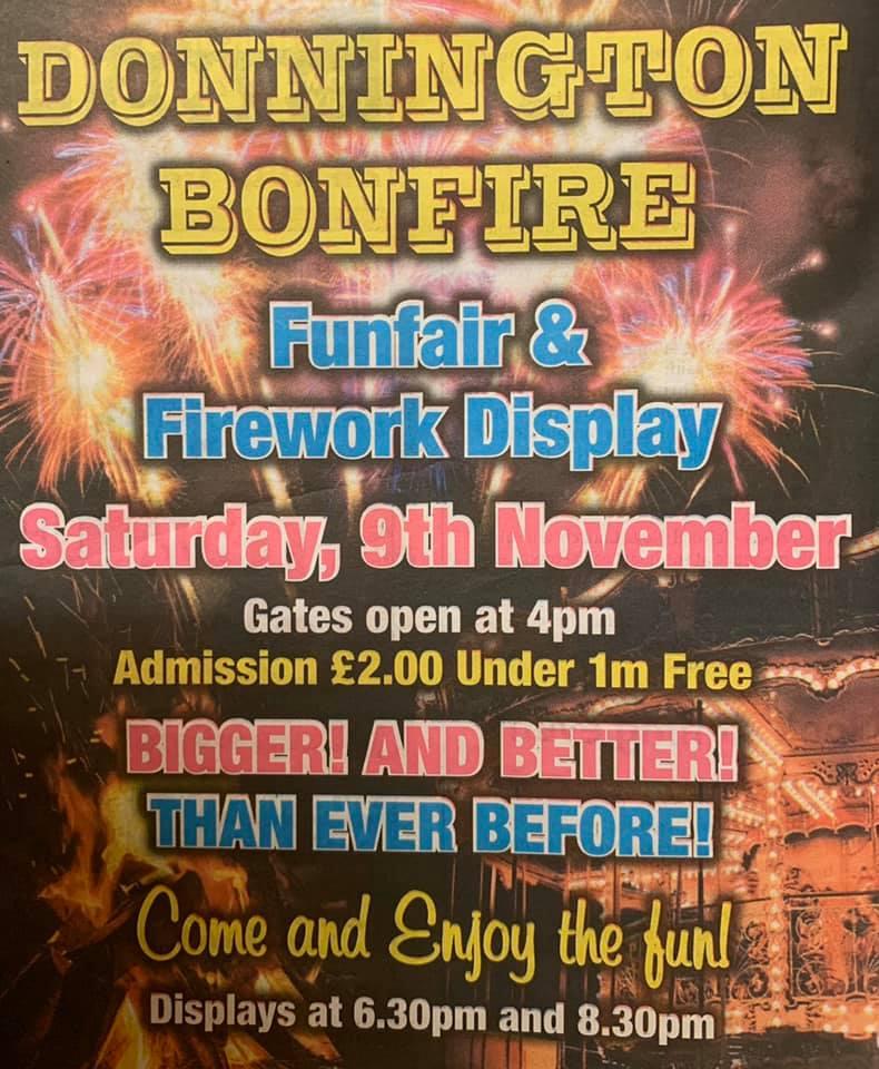 Donnington Bonfire